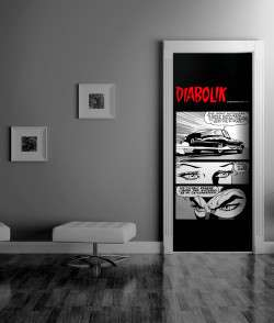 Decorazione_porte_Diabolik_MyCollection